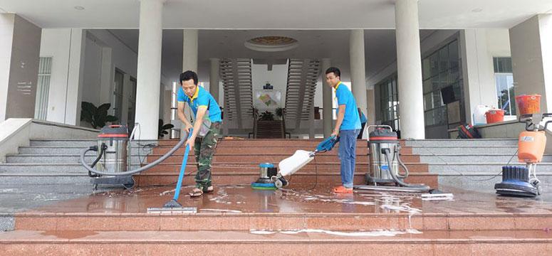 Tổng vệ sinh công trình sau xây dựng